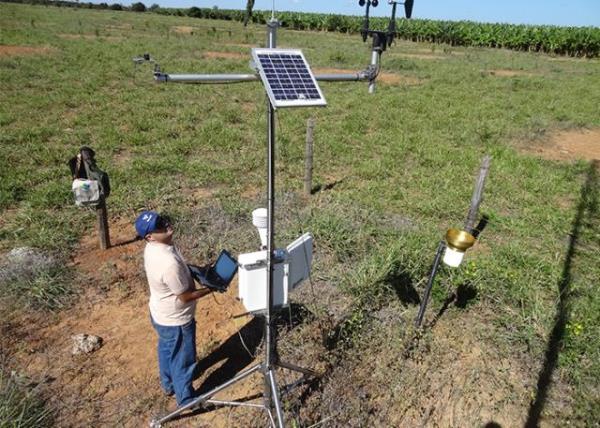 """Um dos focos da pesquisa é a chamada """"produtividade da água"""", termo utilizado para medir o valor de produtos e serviços produzidos por unidade de água consumida / Foto: Reinaldo Gomide"""